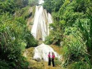 Thác nước đẹp tại Vân Hồ - Mộc Châu